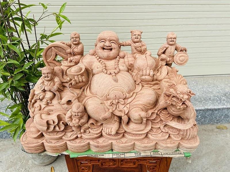 Vì sao nên rước Tượng Phật Cười về nhà?