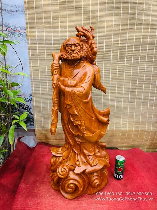 Tượng Đạt Ma hàng nghệ nhân cao 90cm