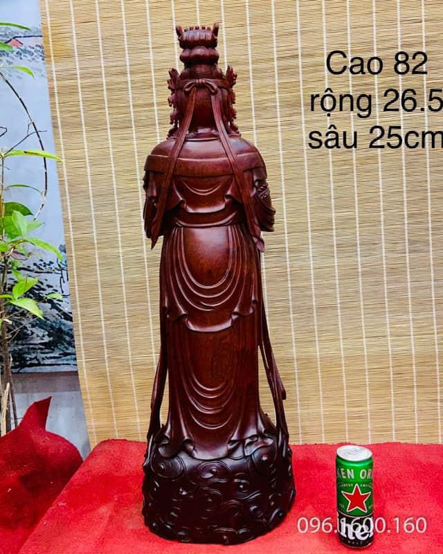 Tượng Phật hạt quan âm đẹp đỉnh cao gỗ hương ta