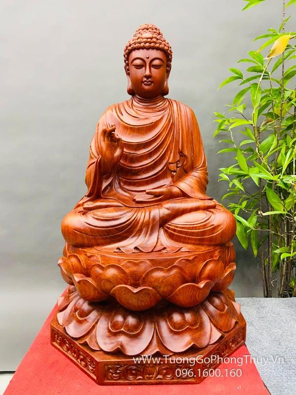25+ Tượng Phật gỗ Thích Ca, Quan âm, Dược Sư, Tam Thánh và Hộ Pháp đẹp đỉnh cao